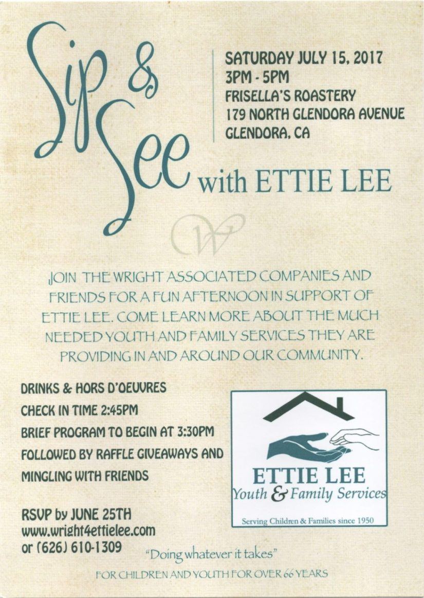 Sip and See with Ettie Lee Event video